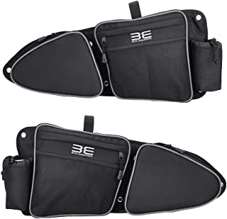 RZR Side Door Bags, New Design, Premium Offroad Front Door Side Storage Bag Set w/Knee Pad for 2014 2015 2016 2017 2018 2019 2020 Polaris RZR XP Turbo Turbo S 1000 S900