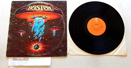 BOSTON (Self-Titled Debut)- Epic Records 1976 - USED Vinyl LP Record - 1976 Pressing PE 34188 - More Than A Feeling - Smok...