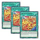 【 3枚セット 】遊戯王 英語版 GEIM-EN012 Magistus Vritra ヴリトラ・マギストス (レア) 1st Edition