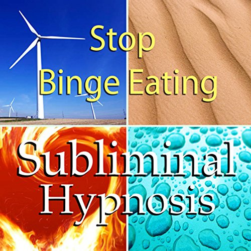 Stop Binge Eating with Subliminal Affirmations audiobook cover art