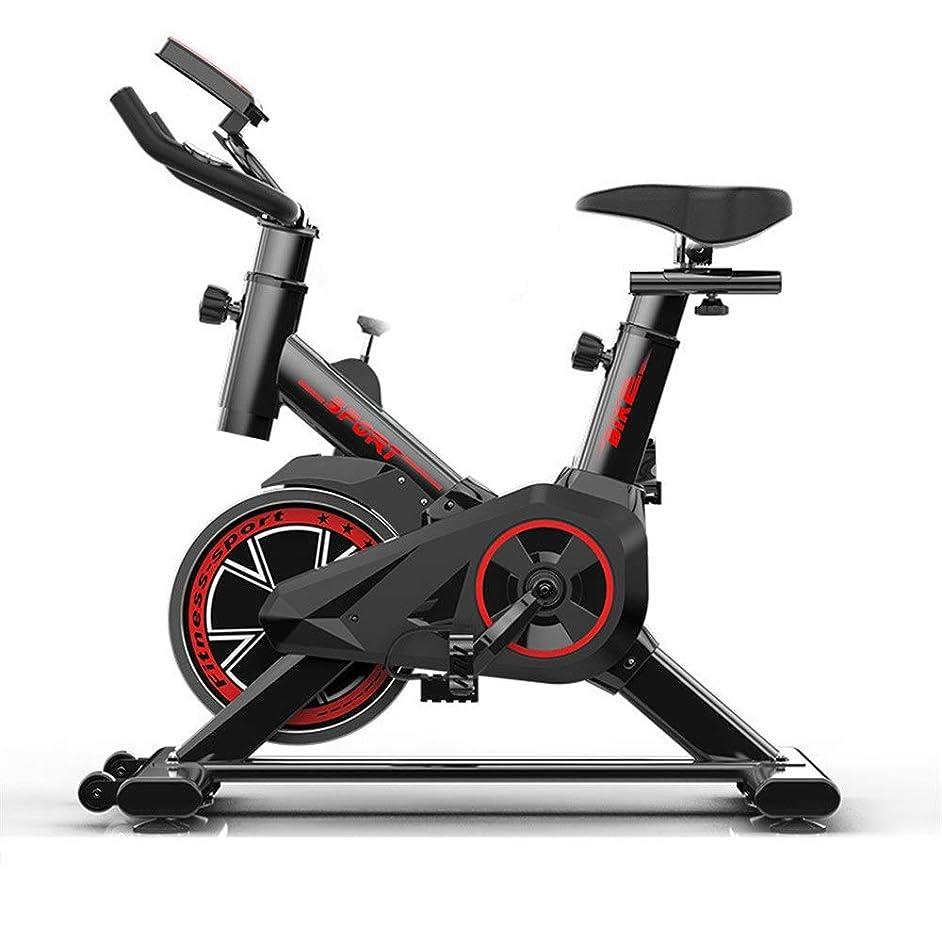 見る正当化するカスタム室内サイクリングエアロバイク トレーニングコンピュータと楕円クロストレーナーで高度なミュートフィットネス自転車 Fitness Cardio Homeサイクリング