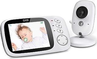 GHB Vigilabebés Inalambrico Bebé Monitor Inteligente con L