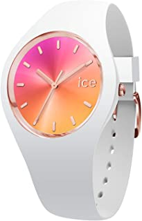 Ice-Watch - ICE sunset California - Montre blanche pour femme avec bracelet en silicone