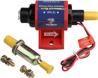 BANG4BUCK 12V 12S Universal Electric Fuel Pump Low Pressure Transfer Pumps for Gasoline Carburetor Engines, 4-7psi 5/16 Inch