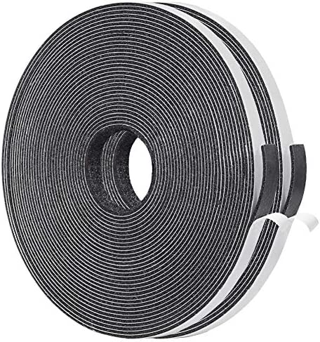Yotache Thin Weather Stripping 2 Strips Total 65 Feet Long 1 16 Inch Thick x 25 1 4 Inch Wide product image