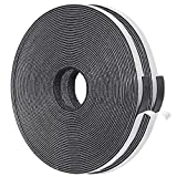 Thin Weather Stripping 2 Strips Total 65 Feet Long 1/16 Inch Thick x (.25) 1/4 Inch Wide, 15mm Foam Gasket Seal Tape for Window, Sliding Door Jamb, Speaker, Dashboard, 2 X 33 Ft Each