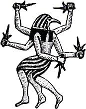 Parche termoadhesivo para la ropa, diseño de Horus Dios egipcio de la realeza y el cielo