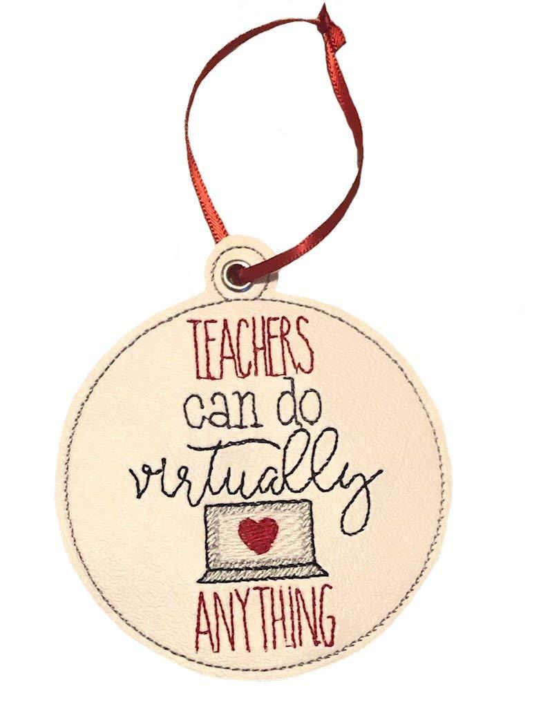 Virtual Teacher Ornament Large-scale sale Max 55% OFF