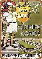 Olympic Games in London ティンサイン ポスター ン サイン プレート ブリキ看板 ホーム バーために