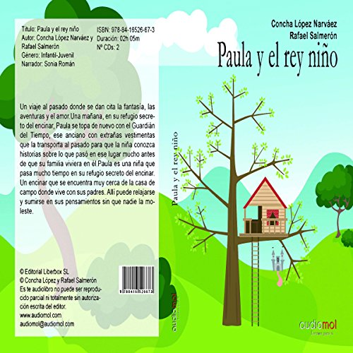 Paula y el rey niño [Paula and the Boy King] audiobook cover art