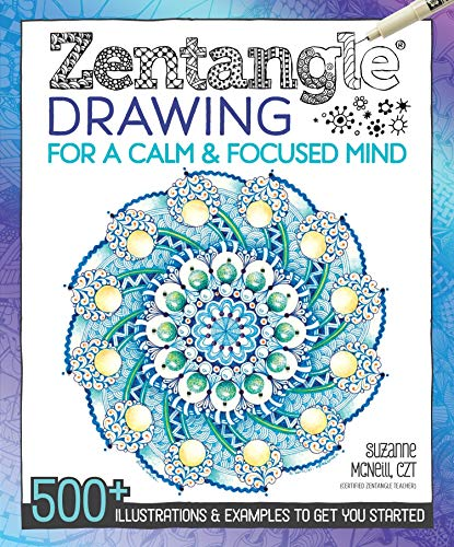 Zentangle Drawing for a Calm & …