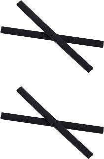 NicelyFit Temple Arm Leg Ear Socks for Oakley Pitchman OX8050 OX8096 OX8105 OO9439 Tincup Glass Frame
