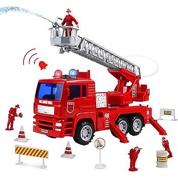jerryvon Feuerwehrauto mit Sirene und Licht - Großes Man