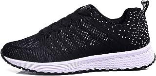ZLYZS Zapatos de Jogging para Mujer, Zapatos cómodos de Moda para Mujer Zapatillas de Deporte Ligeras y Transpirables Zapa...