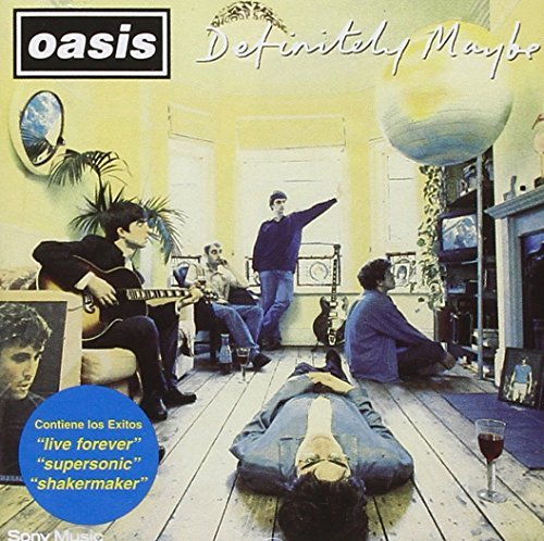 Definitely Maybe by Oasis (1994-08-02)