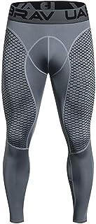 Modaworld Leggings Pantaloni,Sportivo da Uomo Bodybuilding Fitness Gym Pantaloni Jogging,Cool Tight, Pantaloni Lunghi a Co...