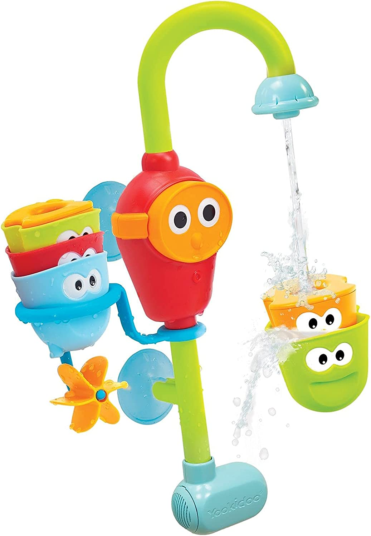 Yookidoo flow 'n' fill - Juguetes de baño de Bebés, para bañera o ducha, bebés y niños de 1 a 6 años