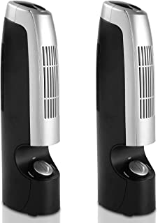 Goplus 2 PCS Mini Air Cleaner Air Ionizers for Home Office Odor Allergies Eliminator from Pets, Smoking, Cooking and Laund...