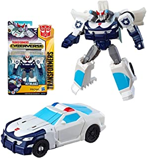 Prowl Jetblast Cyberverse Transformer Action Figure 4.5