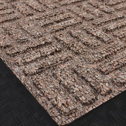 JVL Fußmatte aus Teppich und Gummi Home Office, Eltern 3