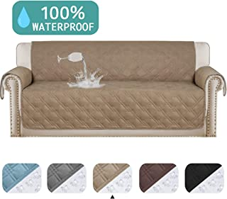 100% Waterproof Sofa Protector Extra-Wide Couch Cover Non-Slip Oversized Furniture Covers Lounge Covers for Leather Sofa Cover Features Protect from Wear and Tear (Oversize Sofa, 86