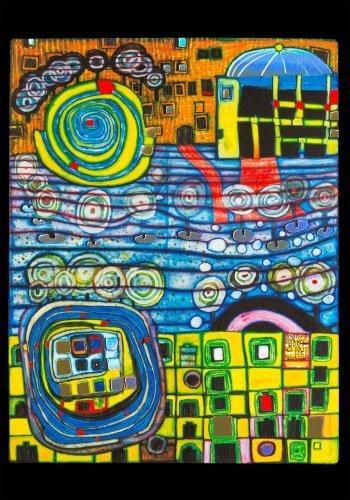 Kunstkarte Hundertwasser