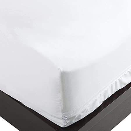 DREAMEASY LUXURY QUILTED  ANTI-ALLERGENIC MATTRESS PROTECTOR SUPER-KING 4:33