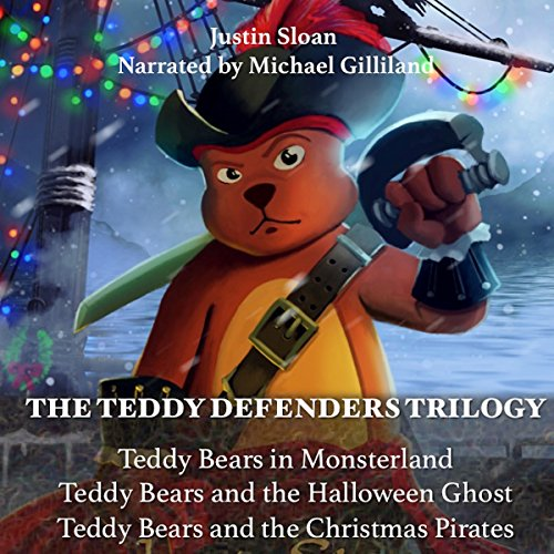 The Teddy Defenders Trilogy audiobook cover art