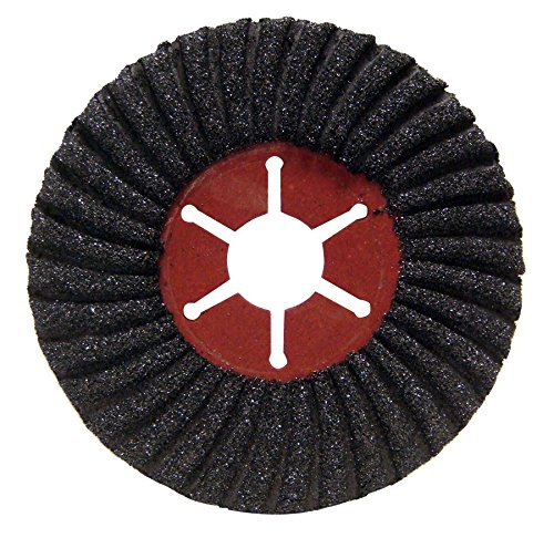 """Mercer Industries 313036 Semi-Flexible Discs Type 27 Silicon Carbide, Hole Grit 36 (10 Pack), 4-1/2"""" x 7/8"""""""