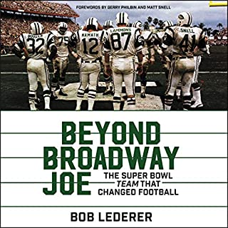 Beyond Broadway Joe audiobook cover art