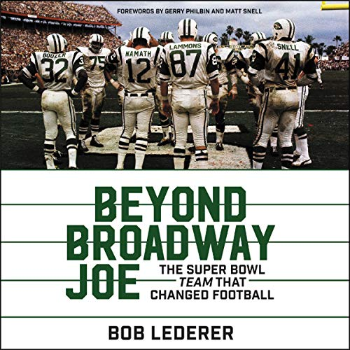 Beyond Broadway Joe Audiobook By Bob Lederer cover art