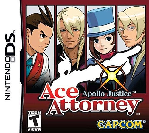 Capcom Apollo Justice: Ace Attorney, NDS
