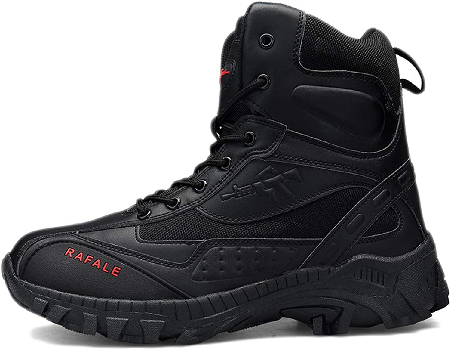 Tactical Boots Men Black Patrol Breathable Lightweight Autumn Winter high-top Outdoor Combat Boots wear-Resistant Military Boots Non-Slip