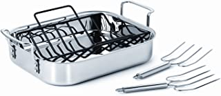 Calphalon Tri-Ply Stainless Steel Cookware, Roaster, 14-inch