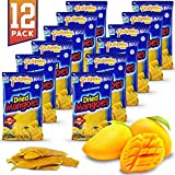 Mangoes Fruit Snacks Philippine Brand Dried {12 PACK} All Naturally Gluten Fr