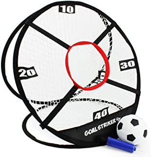 Boley Goal Striker - Soccer Trainer Net with Ball and...