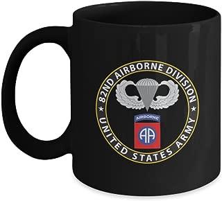 82nd Airborne Coffee Mug - Black Coffee Mug (11 Oz)
