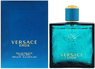 Versace Eros Eau De Toilette Spray for Men 100Ml/3.4Oz