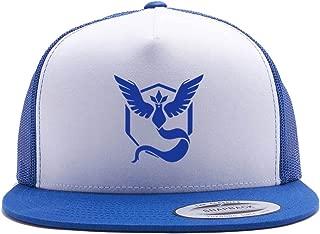 Pokemon Go Hat Team Mystic Team Valor Team Instinct Trucker Hat Snap Back