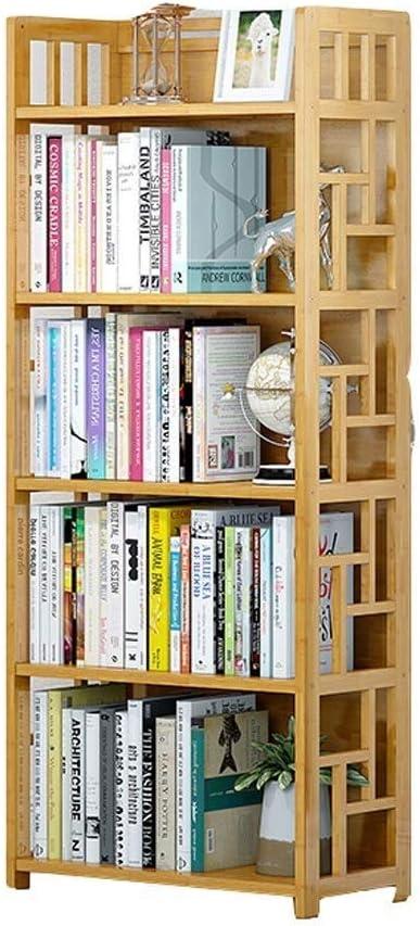 XIANGGUI 1983 Complete Free Shipping Bookshelves Storage Max 49% OFF Rack Bookshelf 4 5-Tier 3 Bamb
