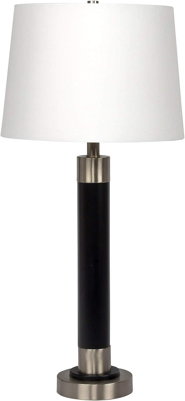 Litex Industries BL15-1LTX Litex Lamp Black & Silver
