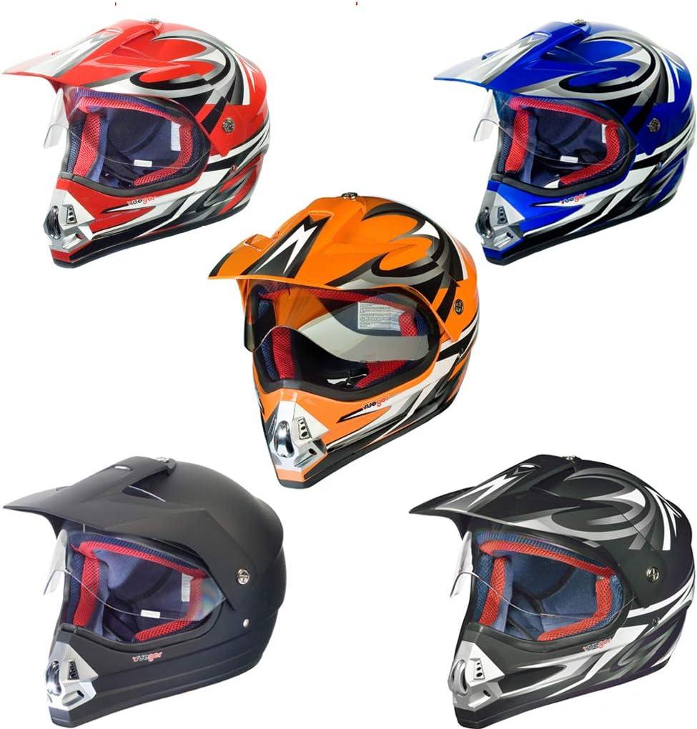 Rx 962 Crosshelm Quad Cross Enduro Motocross Offroad Helm Rueger Größe Xl 61 62 Farbe Schwarz V Rck Auto
