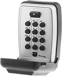 Master Lock Wall Mount Push Button Key Safe
