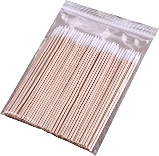 PandaHome, 100 ct Long Cotton Swabs, Natural Precision Tips, The Cleaning Sterile Stocks Using for Facial, Indoors and Outdoor (100 ct Long Single Point)
