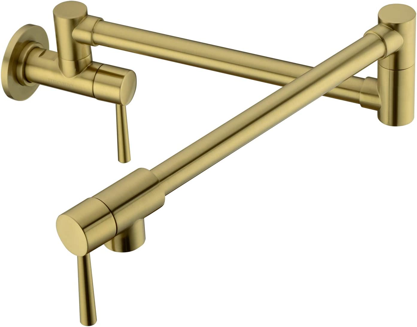 Pirooso Kitchen Pot Filler Faucet Wall Mount Do Brass Department store Max 72% OFF Lead-Free
