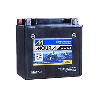 Bateria AGM Moto Moura 12V 12Ah MA12-D HARLEY DAVIDSON ROADSTER SPORT 1200N SPORTSTER NIGHTSTER