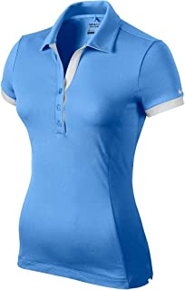 Nike Victory Block Golf Polo 2015 Womens University Blue/White X-Small