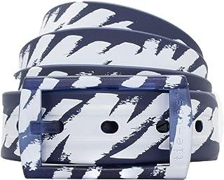 tie-ups Cintura in gomma e plastica fuori produzione Blu white Schizzo
