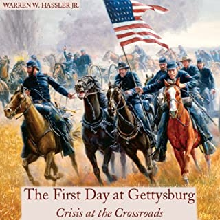 First Day at Gettysburg audiobook cover art