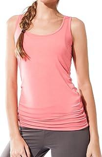 Sternitz Maya Top, Eco-Friendly and Soft. Sleeveless. Yoga Tank Top.